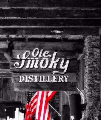 Of Liquor Photograph - Old Smoky Distillery An American Pastime by Dan Sproul