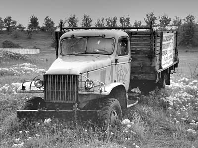 Old Soviet Truck Original by Sorin Ghencea
