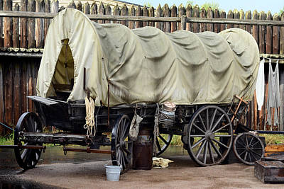 Old Stagecoach Parked For The Evening Original by Toppart Sweden