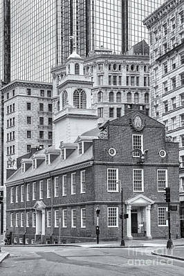 Old State House Iv Print by Clarence Holmes