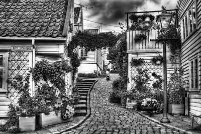 Norway Photograph - Old Stavanger Part I by Erik Brede