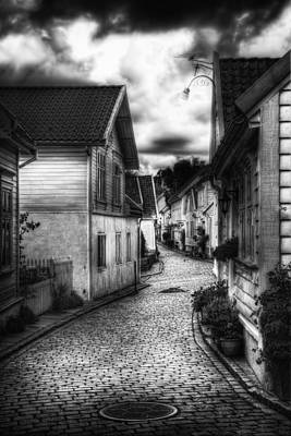 Old Stavanger Part II Print by Erik Brede