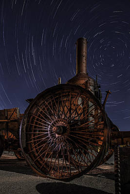 Star Trails Photograph - Old Steel by Kevin L Cole