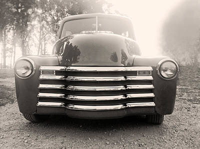 Old Time Truck Print by Don Spenner