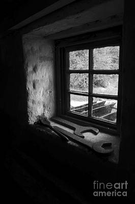American Photograph - Old Tools On The Little Window by RicardMN Photography