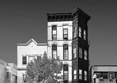 Brick Buildings Photograph - Old Town Chicago - The Second City by Christine Till
