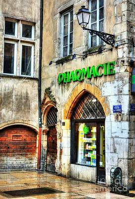 Lyon France Photograph - Old Town Of Lyon 3 by Mel Steinhauer