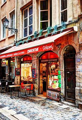 Lyon France Photograph - Old Town Of Lyon by Mel Steinhauer