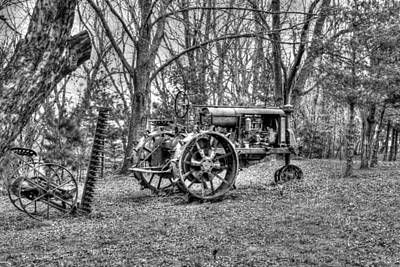 Farm Photograph - Old Tractor by Heather Allen