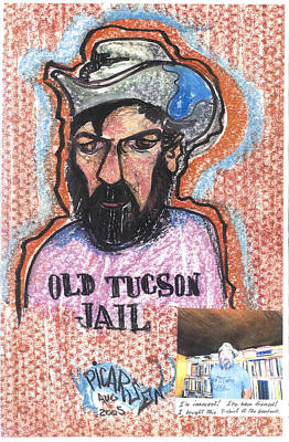 Old Tucson Jail Print by Picarson