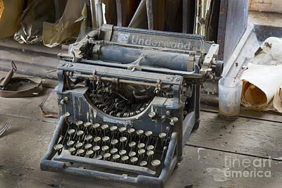 Old Typewriter Original by Michael R Erwine