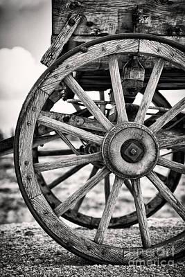 Cartwheel Photograph - Old Wagon Wheels by Jane Rix