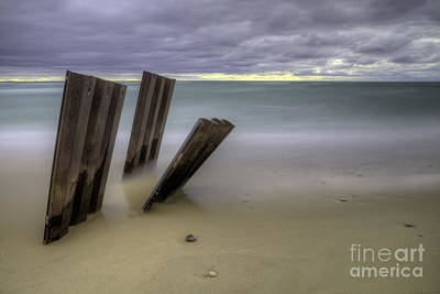 Northern Michigan Photograph - Old Walls Falling by Twenty Two North Photography