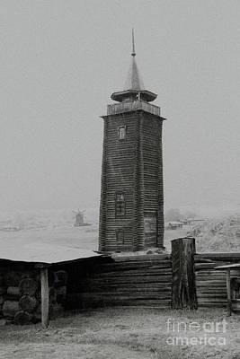 Old Watchtower Print by Evgeniy Lankin