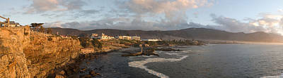 Old Whaling Station With A Town Print by Panoramic Images