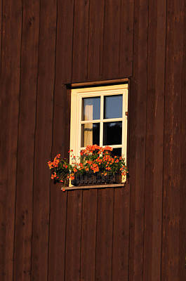Barn Wood Photograph - Old Window by Aged Pixel