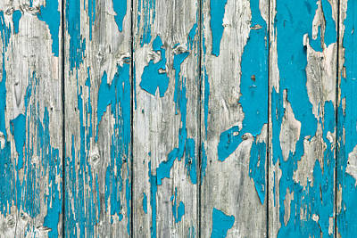 Repeating Photograph - Old Wood by Tom Gowanlock