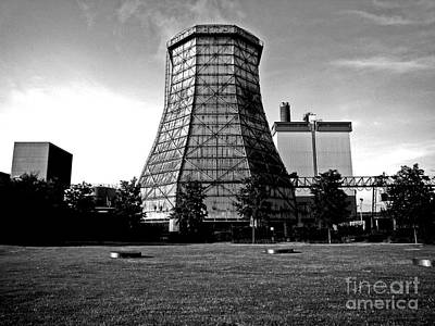 Old Wooden Cooling Tower Print by Andy Prendy
