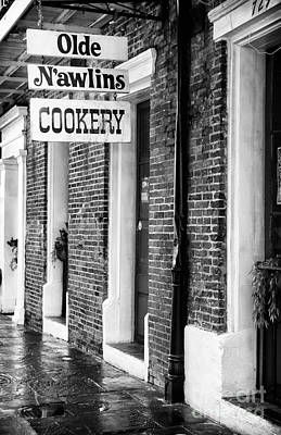 Olde N'awlins Cookery Print by John Rizzuto