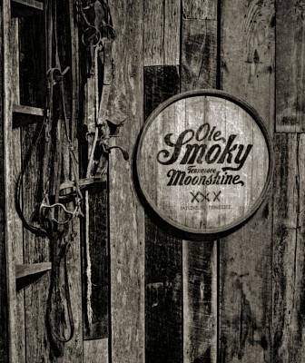 Lightning D Photograph - Ole Smoky Tennessee Moonshine by Dan Sproul