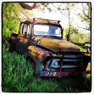 Ole Truck Original by Jeff Klingler