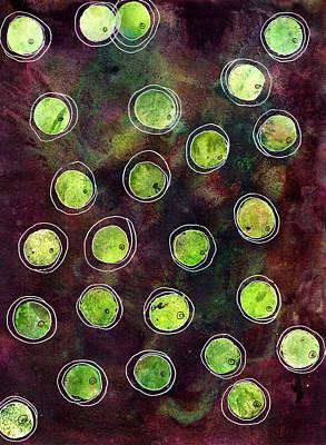 Olive Dance Print by Jennifer Pavia
