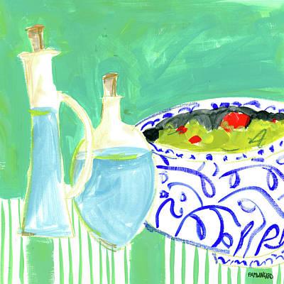 Olive Oil I Print by Pamela J. Wingard