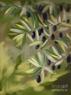 Olive Tree Original by Go Van Kampen