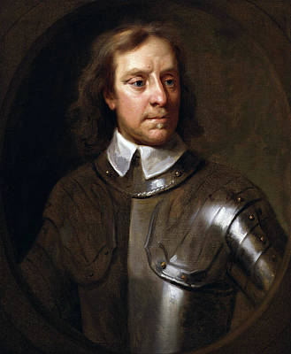 Oliver Painting - Oliver Cromwell by War Is Hell Store