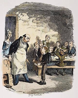 Novel Painting - Oliver Twist, 1837-38 by Granger