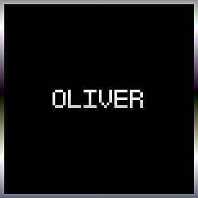 Card Digital Art - Oliver.1.2 by Gareth Lewis