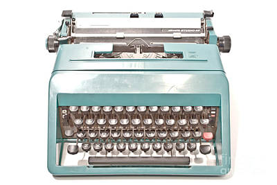 Olivetti Photograph - Olivetti Typewriter 1 by Pittsburgh Photo Company