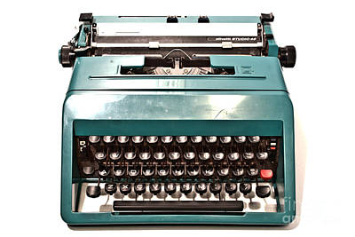 Olivetti Photograph - Olivetti Typewriter 13 by Pittsburgh Photo Company