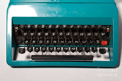 Olivetti Photograph - Olivetti Typewriter 4 by Pittsburgh Photo Company