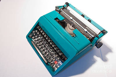 Olivetti Photograph - Olivetti Typewriter 7 by Pittsburgh Photo Company