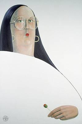 Olivia Painting - Olivia   by Carolyn McNellis