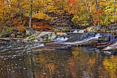 Foliage Photograph - Olmsted Falls Autumn Beauty by Marcia Colelli