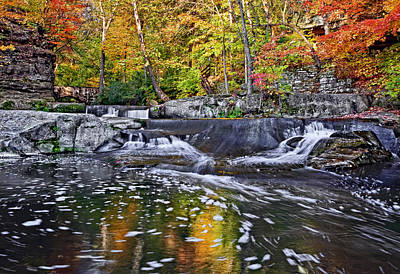 Amish Photograph - Olmsted Falls by Marcia Colelli