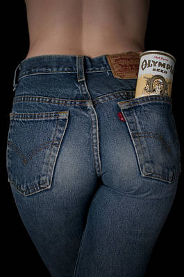 Olympia Beer Ad Print by Casey Grant