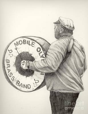 Olympia Brass Band Print by Phyllis Henson