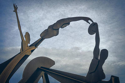 Surrealist Photograph - Olympic Sculpture by Joan Carroll