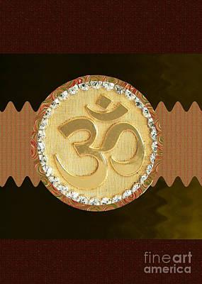 Om Mantra Ommantra Hinduism Symbol Sound Chant Religion Religious Genesis Temple Veda Gita Tantra Ya Original by Navin Joshi