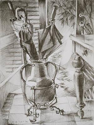 Ombrelli Di San Martino Original by Roger Clark