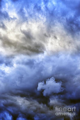 Winter Storm Photograph - Ominous Storm Clouds by Thomas R Fletcher