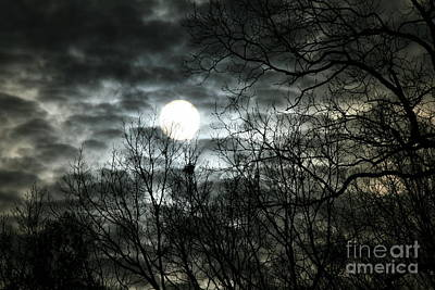 Ominous Sun Print by Neal  Eslinger
