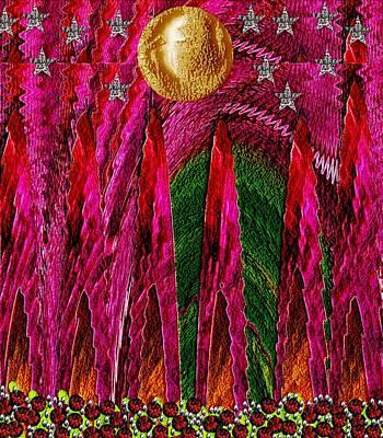 On A Mountain High Pop Art Print by Pepita Selles