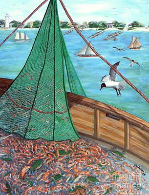 On Deck Print by JoAnn Wheeler