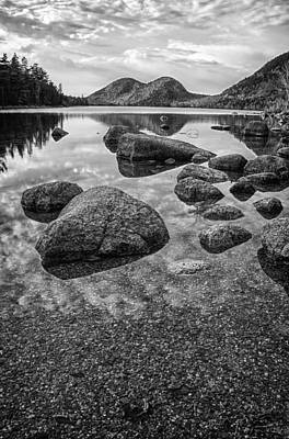 Jordan Pond Photograph - On Jordan Pond by Kristopher Schoenleber