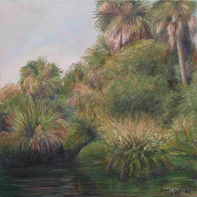 On Pellicer Creek Print by Patty Weeks