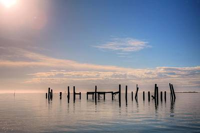 Navarre Beach Photograph - On Santa Rosa Sound by JC Findley